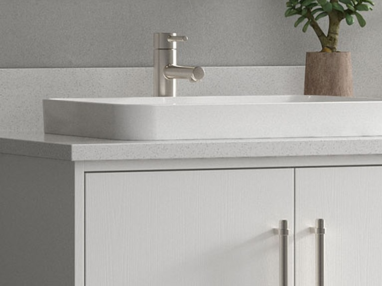 The Greenwell Collection - Semi-Recessed Sink Option