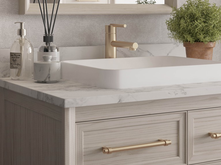The Riven Collection - Semi-Recessed Sink Option